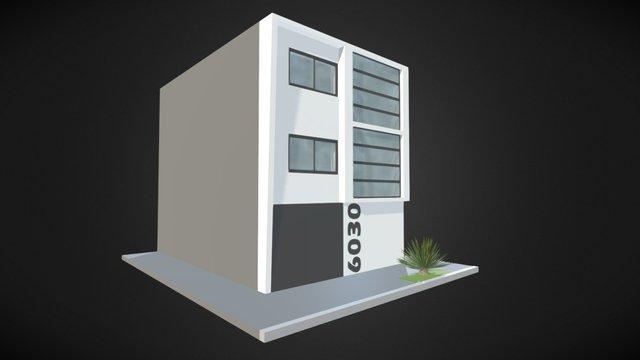 Facade House vol. 01 3D Model