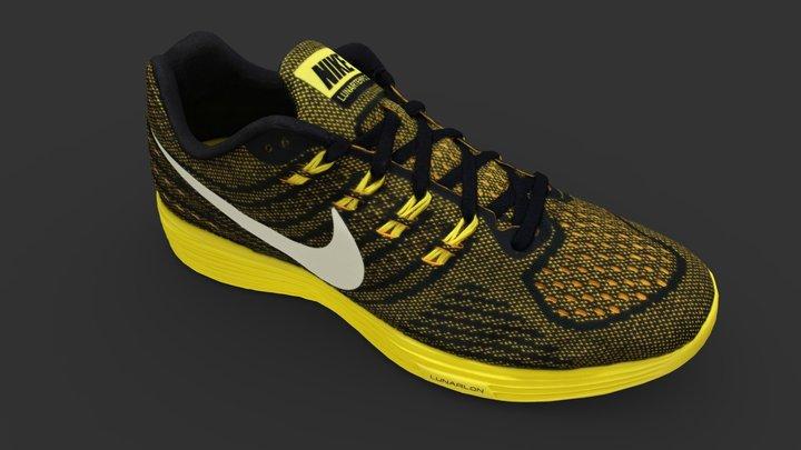 Nike Lunartempo 2 Shoe 3D Model