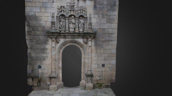 BASILICA SANTA MARIA.PONTEVEDRA 3D Model