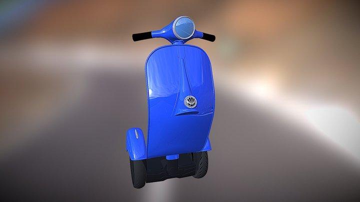 Z-Scooter by bel&bel 3D Model