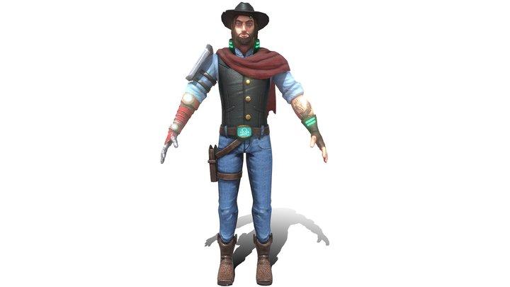 Captain Colt 3D Model