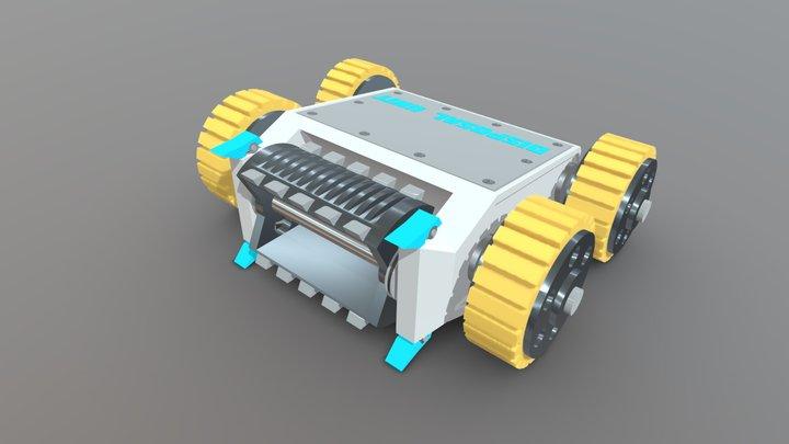 Disposal Unit 3D Model