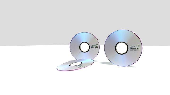 DVD_CD 3D Model