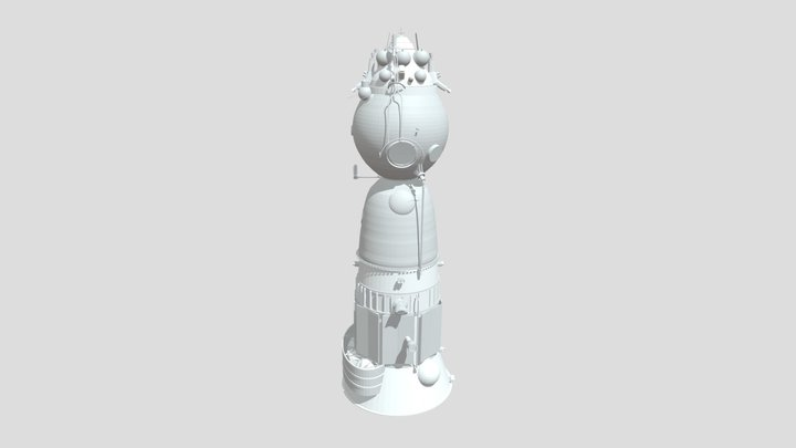 Soyuz- Lok 3D Model