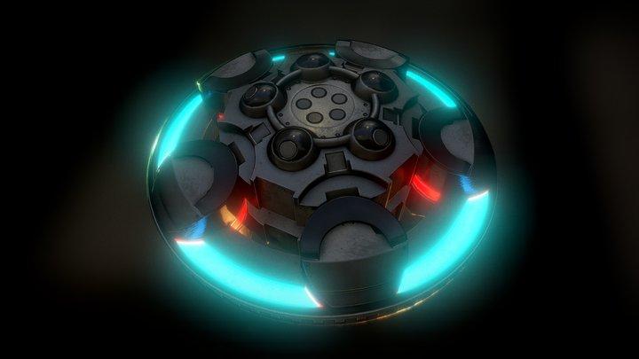 UFO Type 1 3D Model