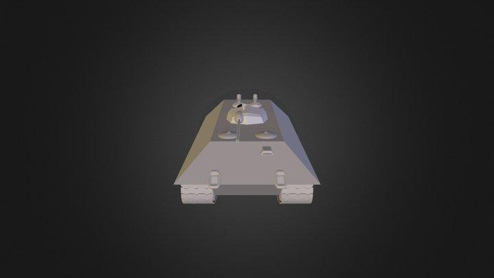 Dt-7 with Dt-1 turret 3D Model