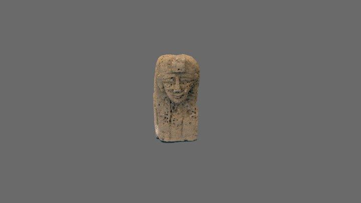 Buste ptolémaïque découvert à Plinthine (Égypte) 3D Model