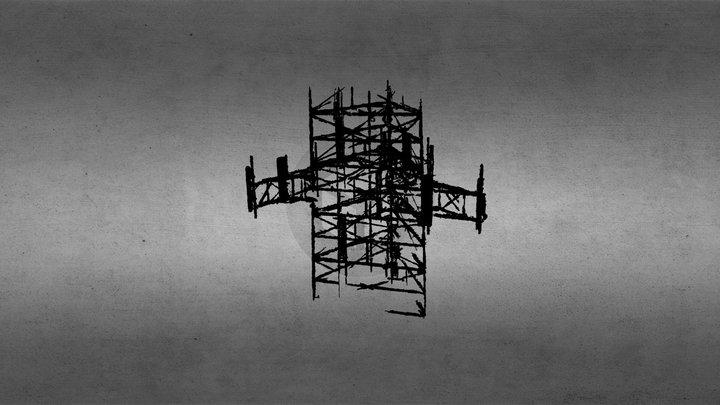 Tower 216 Tier 2 Densified Point Cloud 3D Model