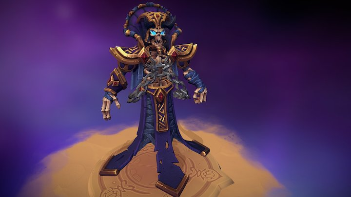 Kel'Thuzad Fan Art 3D Model