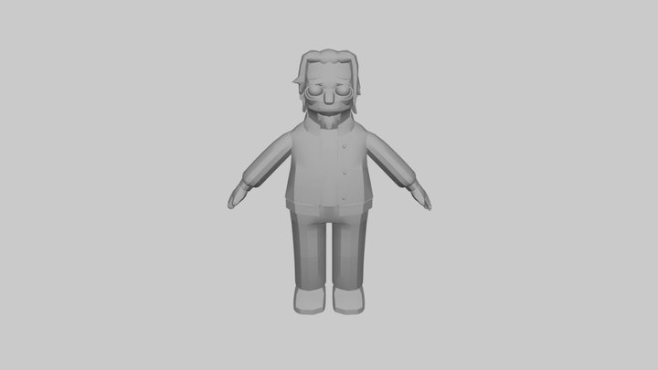 The Simpsons Game (2007) - Matt Groening 3D Model