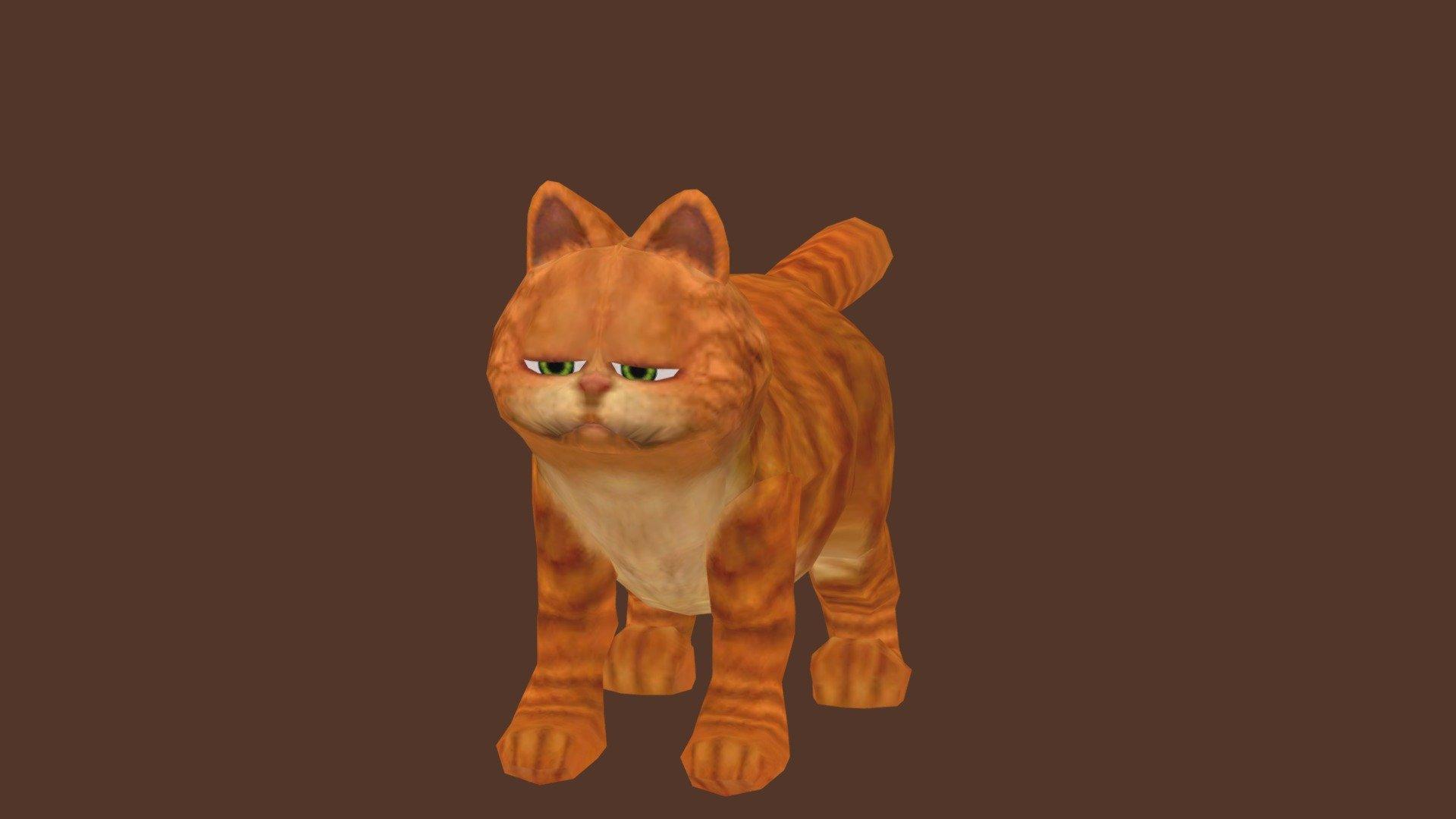 Garfield Download Free 3d Model By Funnyspoonman Funnyspoonman 69e7920 Sketchfab