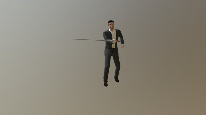 Detective hit 3D Model