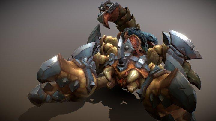 Mount Scorpion 3D Model