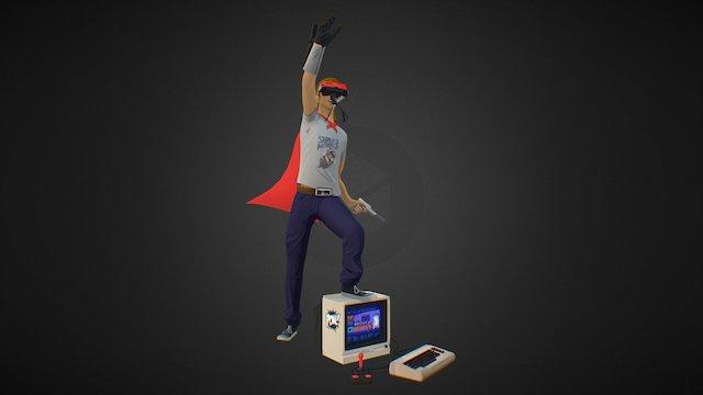 POW! Console Master 3D Model