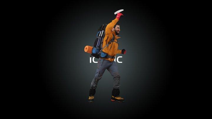 Climber 3D Model
