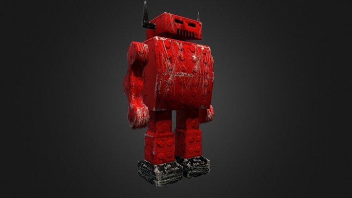 Devil Bot 3D Model