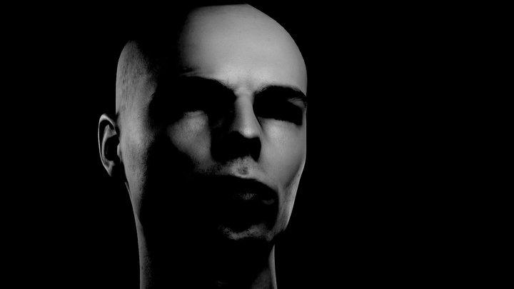 Self portrait 3D Model