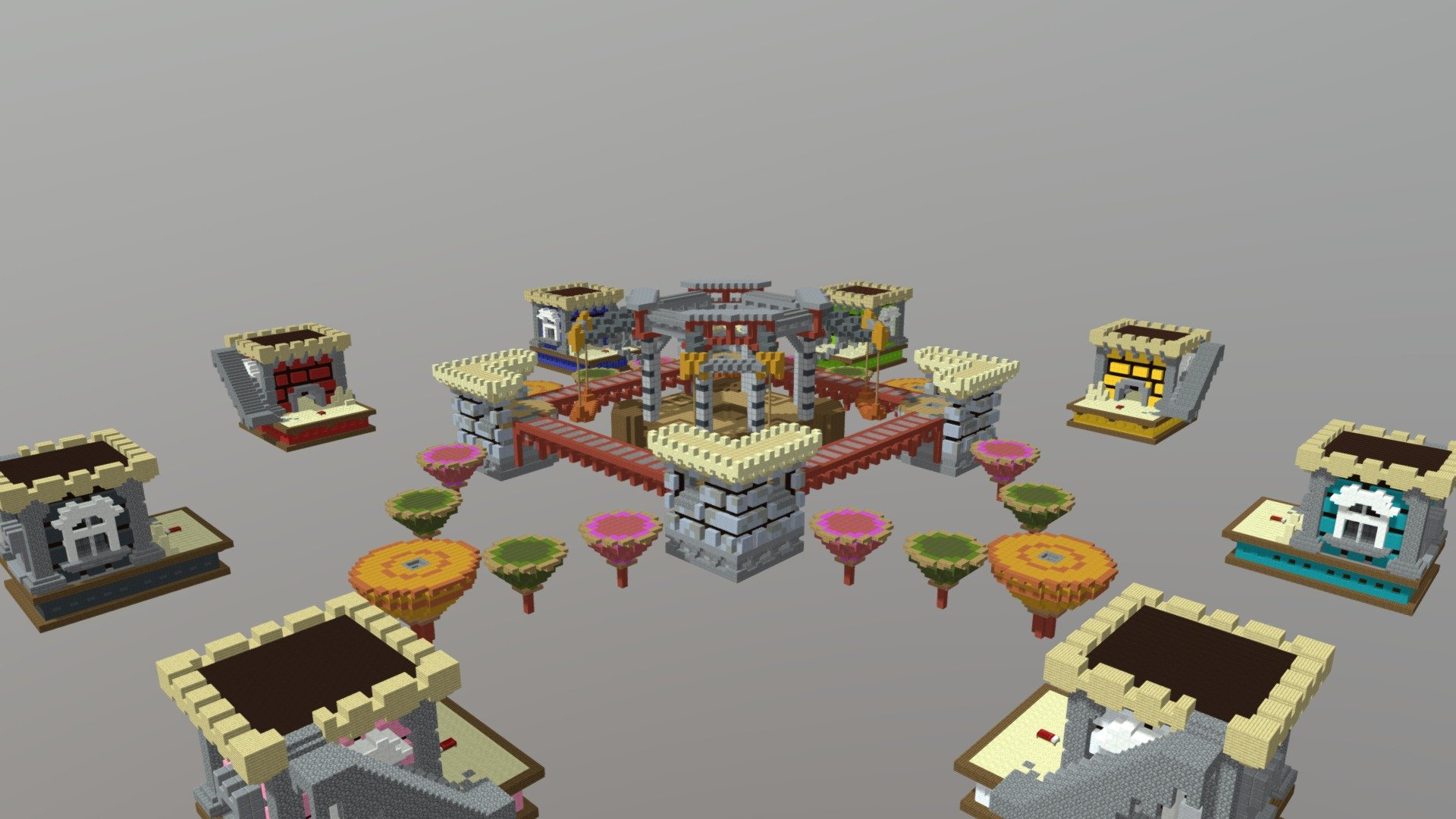 Bedwars Playground 3d Model By Beanng Beanng 69f7b4f Sketchfab