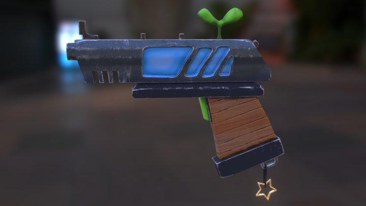 Stylized gun 3D Model
