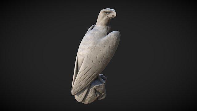 Falcon Statue Scan 3D Model