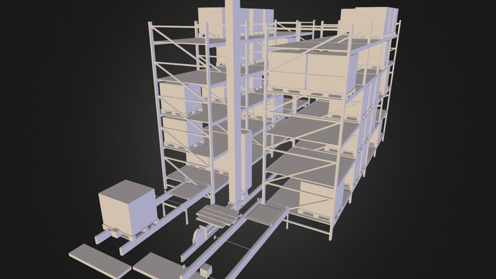 Demo3D ASRS 3D Model