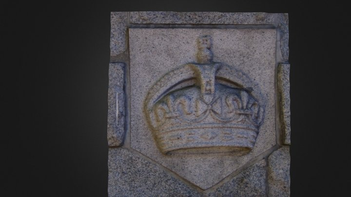 Crown stonework 3D Model