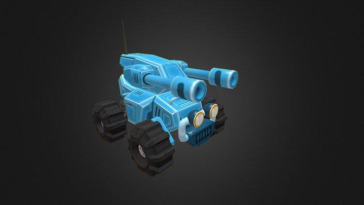 TBQ-001 Tank 3D Model