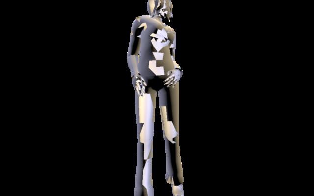 female01.obj 3D Model