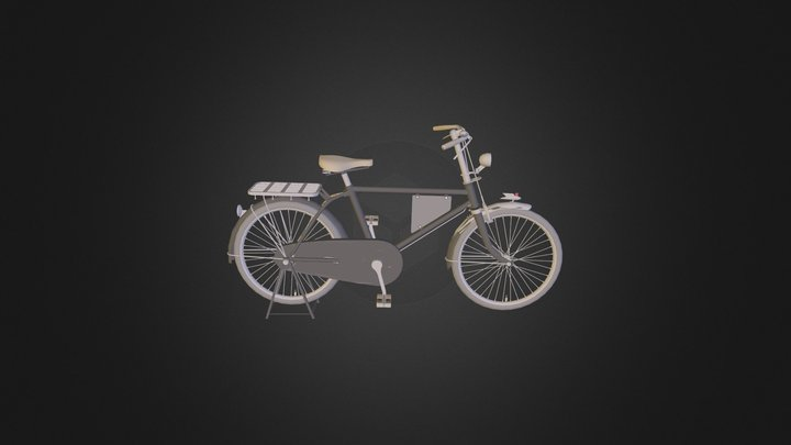 Old_Bycicle 3D Model