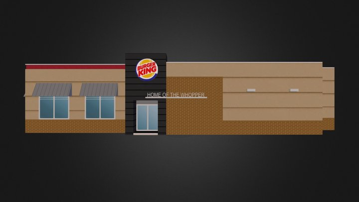 BurgerKing.kmz 3D Model