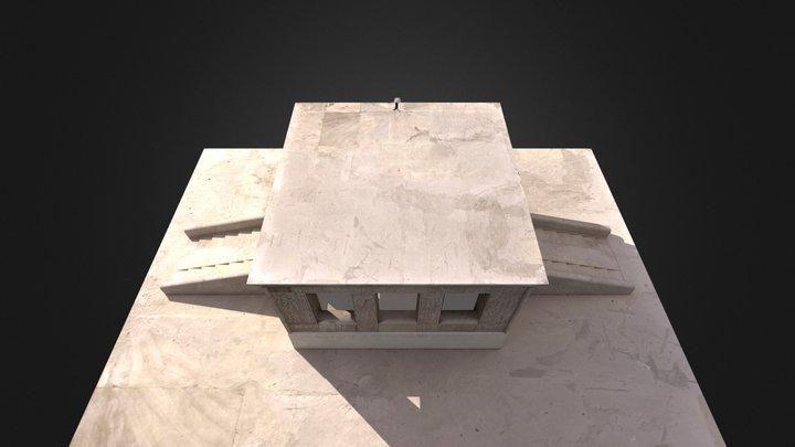 Chapelle blanche 3D Model