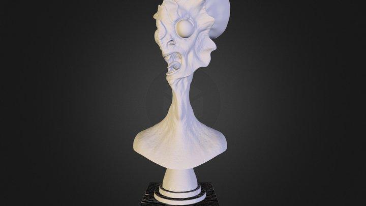Alien_bust_a_4inch.stl 3D Model