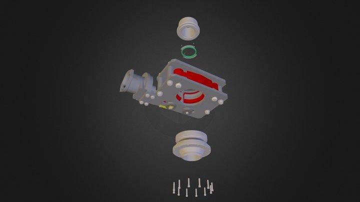 SBC15006 Exploded G6SB.dwf 3D Model