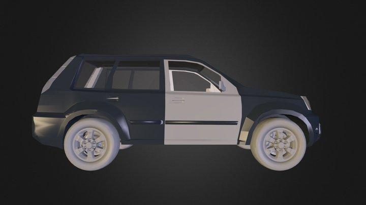 Xtrailsimple.3ds 3D Model