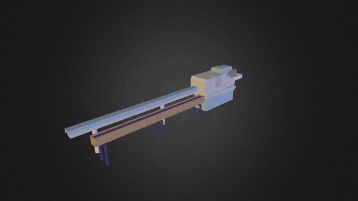 Turning_Machine_004 3D Model
