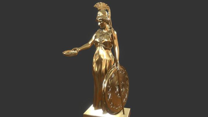Sulis Minerva 3D Model