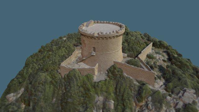 Tour génoise, 20110 Belvédère-Campomoro 3D Model