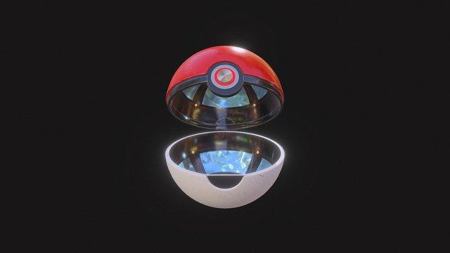 PokeBall Test2 3D Model