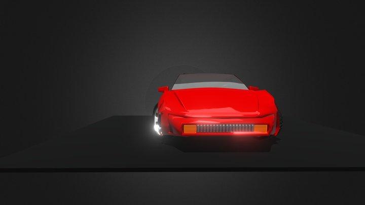 2020 Porsche 944 Turbo 3D Model
