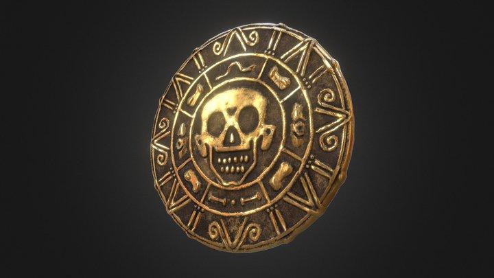 #SGP23 Piece of Cursed Aztec Gold [1hour] 3D Model