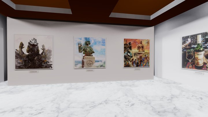 Instamuseum for @qcetty 3D Model
