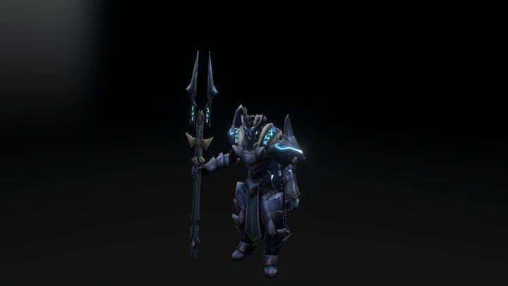 Legion TD 2 - Sky King 3D Model