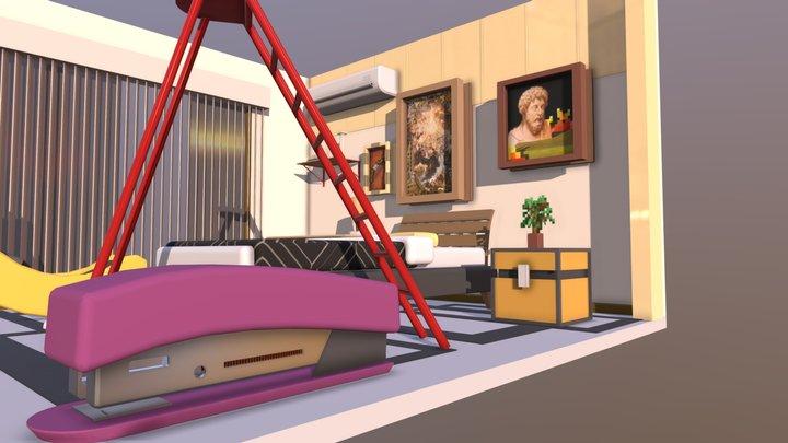 Diorama Completo - Monogatari Inspired 3D Model