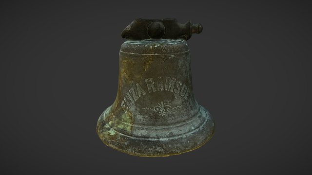 Bell from the wreck of the Eliza Ramsden 1875 3D Model