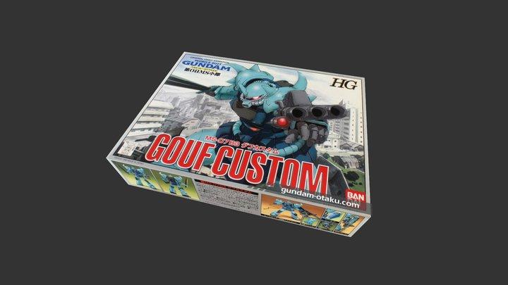 HG MS-07B3 Gouf Custom 3D Model