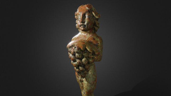 Figurine de Bacchus   Figurine of Bacchus 3D Model