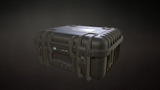 B&W outdoor case Type 3000 3D Model