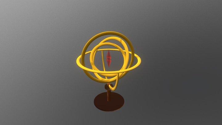 Crystal Gyro 3D Model