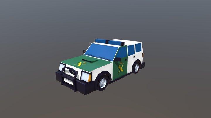 Todoterreno Guardia Civil 3D Model