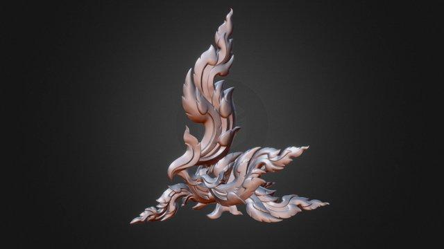 Kinnaree - Thai Art 3D Model